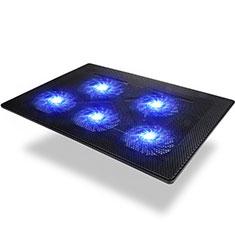 Support Ordinateur Portable Ventilateur de Refroidissement Radiateur Universel 9 Pouces a 16 Pouces M09 pour Apple MacBook Air 13 pouces (2020) Noir