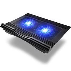 Support Ordinateur Portable Ventilateur de Refroidissement Radiateur Universel 9 Pouces a 16 Pouces M10 pour Apple MacBook Air 13 pouces (2020) Noir