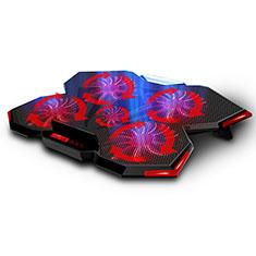 Support Ordinateur Portable Ventilateur de Refroidissement Radiateur Universel 9 Pouces a 16 Pouces M12 pour Apple MacBook Air 13 pouces (2020) Noir
