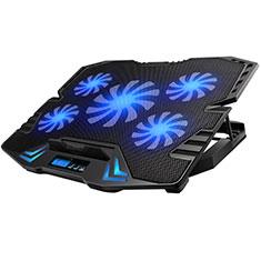 Support Ordinateur Portable Ventilateur de Refroidissement Radiateur Universel 9 Pouces a 16 Pouces M14 pour Apple MacBook Air 13 pouces (2020) Noir
