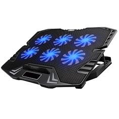 Support Ordinateur Portable Ventilateur de Refroidissement Radiateur Universel 9 Pouces a 16 Pouces M15 pour Apple MacBook Air 13 pouces (2020) Noir