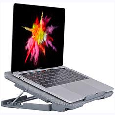 Support Ordinateur Portable Ventilateur de Refroidissement Radiateur Universel 9 Pouces a 16 Pouces M16 pour Apple MacBook Air 13.3 pouces (2018) Argent