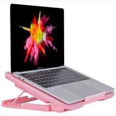 Support Ordinateur Portable Ventilateur de Refroidissement Radiateur Universel 9 Pouces a 16 Pouces M16 pour Apple MacBook Air 13 pouces (2020) Rose