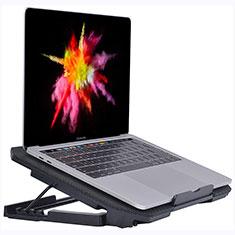 Support Ordinateur Portable Ventilateur de Refroidissement Radiateur Universel 9 Pouces a 16 Pouces M16 pour Apple MacBook Pro 15 pouces Noir