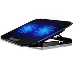 Support Ordinateur Portable Ventilateur de Refroidissement Radiateur Universel 9 Pouces a 16 Pouces M17 pour Apple MacBook Air 13 pouces Noir