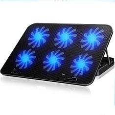 Support Ordinateur Portable Ventilateur de Refroidissement Radiateur Universel 9 Pouces a 16 Pouces M18 pour Apple MacBook Air 13 pouces Noir