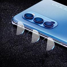 Verre Trempe Protecteur de Camera Protection C02 pour Oppo Reno4 5G Clair
