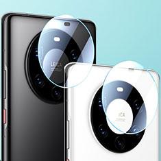 Verre Trempe Protecteur de Camera Protection pour Huawei Mate 40 Pro+ Plus Clair