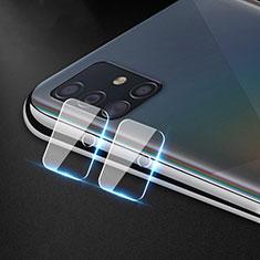 Verre Trempe Protecteur de Camera Protection pour Samsung Galaxy A51 4G Clair