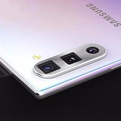 Verre Trempe Protecteur de Camera Protection pour Samsung Galaxy Note 10 5G Argent