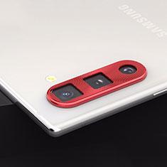 Verre Trempe Protecteur de Camera Protection pour Samsung Galaxy Note 10 5G Rouge