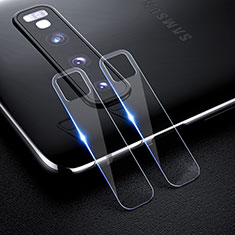 Verre Trempe Protecteur de Camera Protection pour Samsung Galaxy S10 Clair