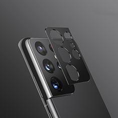 Verre Trempe Protecteur de Camera Protection pour Samsung Galaxy S21 Ultra 5G Noir