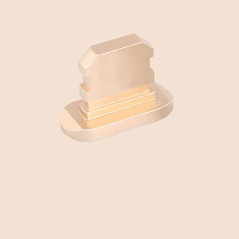 Bouchon Anti-poussiere Lightning USB Jack J06 pour Apple iPhone 11 Or