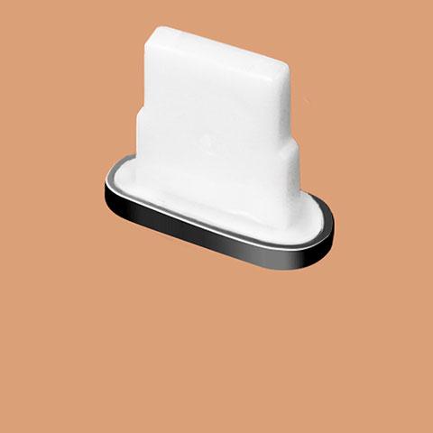 Bouchon Anti-poussiere Lightning USB Jack J07 pour Apple iPhone 11 Pro Noir