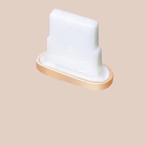 Bouchon Anti-poussiere Lightning USB Jack J07 pour Apple iPhone 11 Pro Or