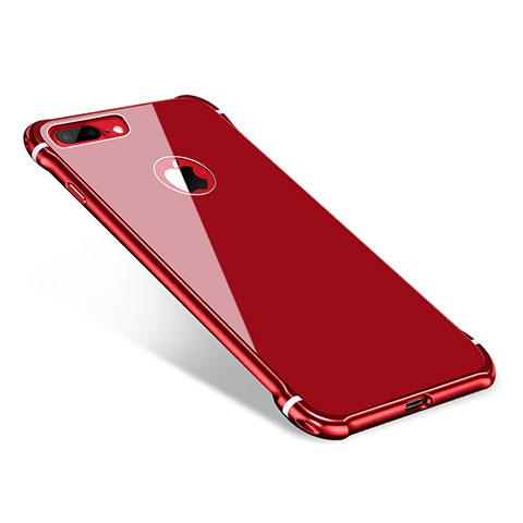 coque iphone 7 miroir rouge