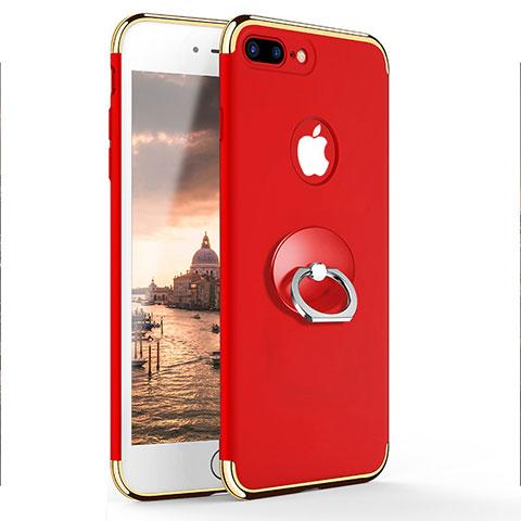 coque anneau iphone 8 plus rouge