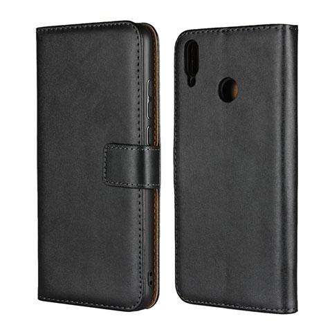 Coque Clapet Portefeuille Livre Cuir pour Huawei Honor 8X Noir