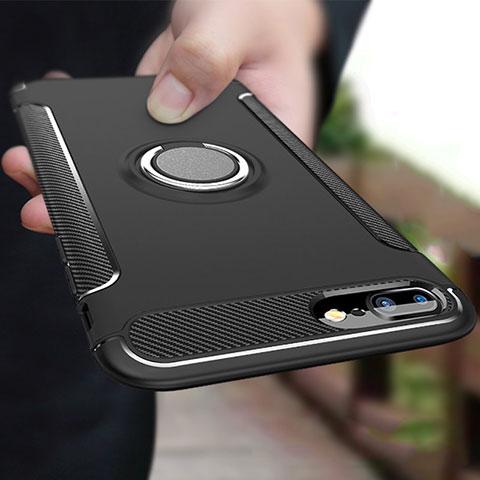 coque iphone 8 plus avec anneau papillon