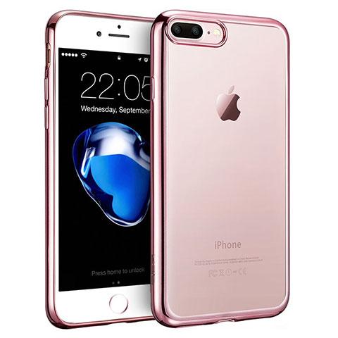 coque iphone 8 plus contour rose