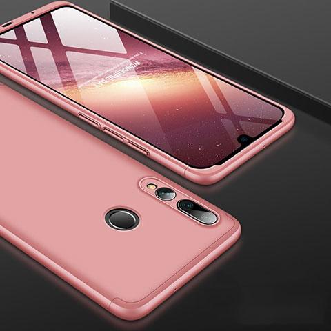 Coque Plastique Mat Protection Integrale 360 Degres Avant et Arriere Etui Housse pour Huawei Honor 20 Lite Or Rose