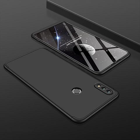 Coque Plastique Mat Protection Integrale 360 Degres Avant et Arriere Etui Housse pour Huawei Honor 8X Noir