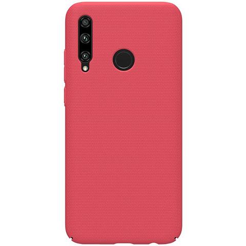 Coque Plastique Rigide Etui Housse Mat M01 pour Huawei Honor 20 Lite Rouge