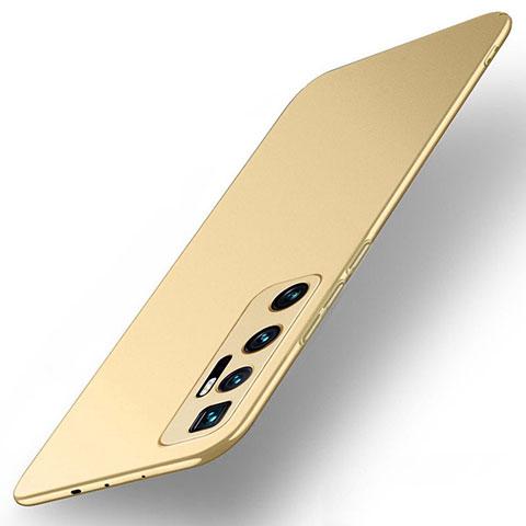 Coque Plastique Rigide Etui Housse Mat M01 pour Xiaomi Mi 10 Ultra Or