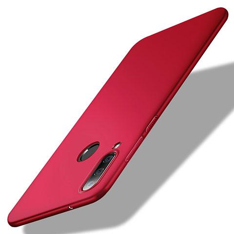 Coque Plastique Rigide Etui Housse Mat M02 pour Huawei Honor 20 Lite Rouge