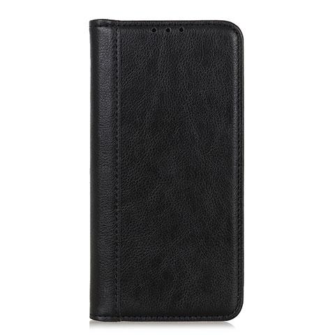 Coque Portefeuille Livre Cuir Etui Clapet L01 pour Motorola Moto G9 Plus Noir