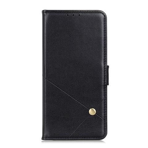 Coque Portefeuille Livre Cuir Etui Clapet L02 pour Motorola Moto G9 Plus Noir