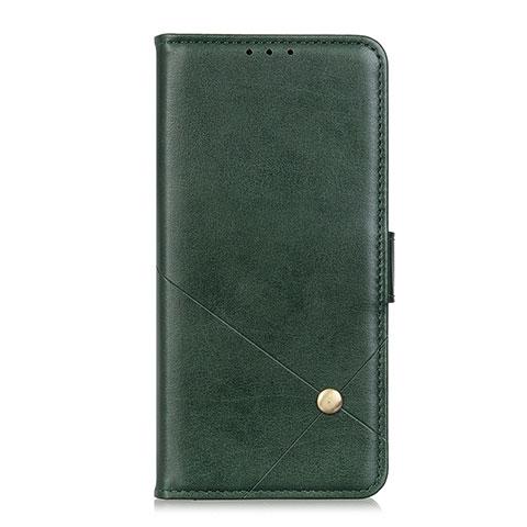 Coque Portefeuille Livre Cuir Etui Clapet L02 pour Motorola Moto G9 Plus Vert