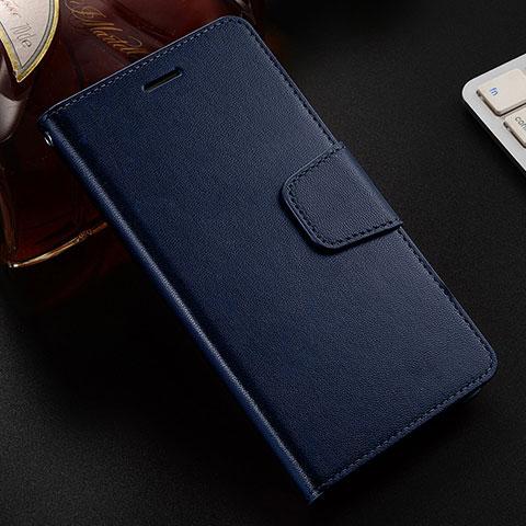 Coque Portefeuille Livre Cuir Etui Clapet L03 pour Huawei Honor 8X Bleu