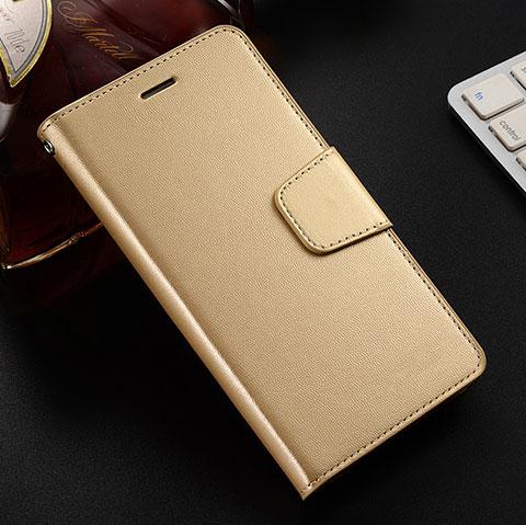 Coque Portefeuille Livre Cuir Etui Clapet L03 pour Huawei Honor 8X Or