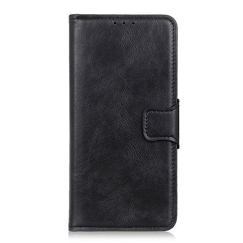 Coque Portefeuille Livre Cuir Etui Clapet L03 pour Oppo Reno3 A Noir