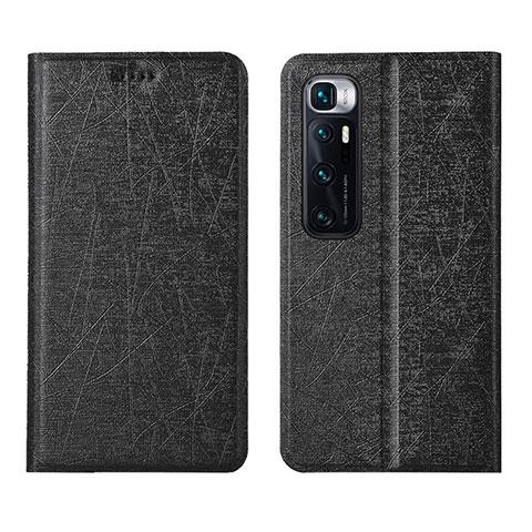 Coque Portefeuille Livre Cuir Etui Clapet L03 pour Xiaomi Mi 10 Ultra Noir