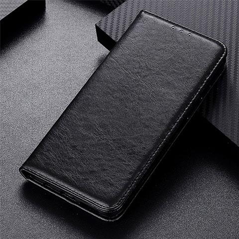 Coque Portefeuille Livre Cuir Etui Clapet L05 pour Motorola Moto G9 Plus Noir