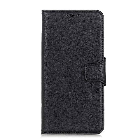 Coque Portefeuille Livre Cuir Etui Clapet L05 pour Oppo Reno3 A Noir