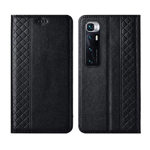 Coque Portefeuille Livre Cuir Etui Clapet L05 pour Xiaomi Mi 10 Ultra Noir