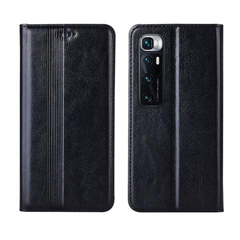 Coque Portefeuille Livre Cuir Etui Clapet L06 pour Xiaomi Mi 10 Ultra Noir