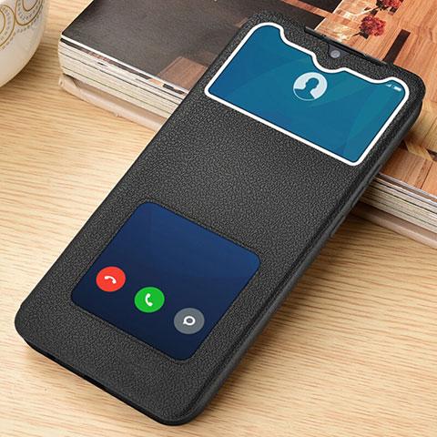 Coque Portefeuille Livre Cuir Etui Clapet L06 pour Xiaomi Redmi Note 8 Pro Noir