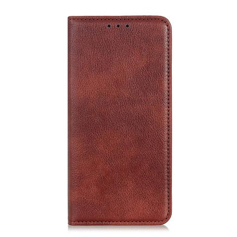 Coque Portefeuille Livre Cuir Etui Clapet L07 pour Xiaomi Mi 10 Ultra Marron
