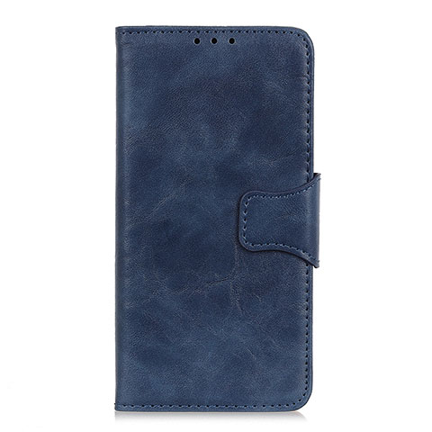 Coque Portefeuille Livre Cuir Etui Clapet pour Oppo Reno3 A Bleu