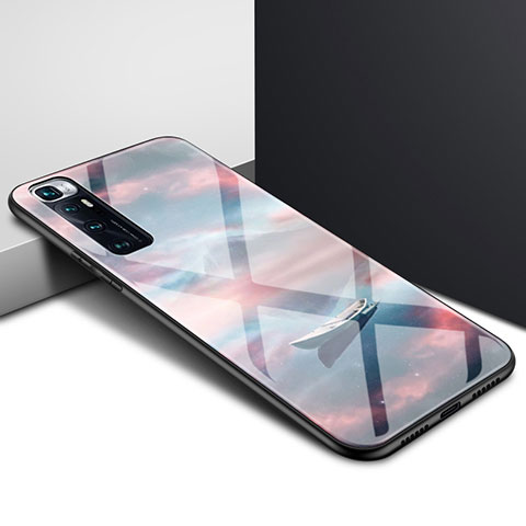 Coque Rebord Contour Silicone et Vitre Miroir Housse Etui pour Xiaomi Mi 10 Ultra Mixte