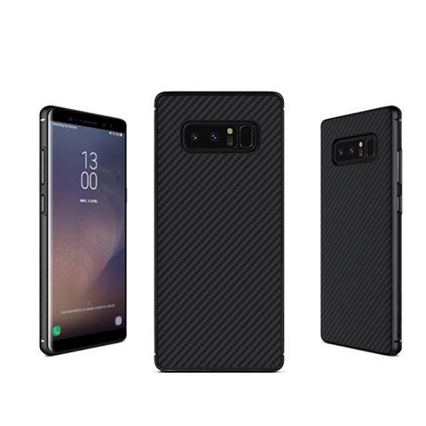 Coque Silicone Gel Serge B02 pour Samsung Galaxy Note 8 Noir