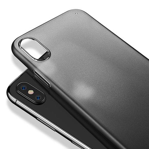 coque iphone x transparent plastique rigide
