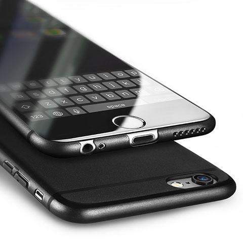 coque ultra fine plastique rigide u02 pour apple iphone 6 noir 6480 1