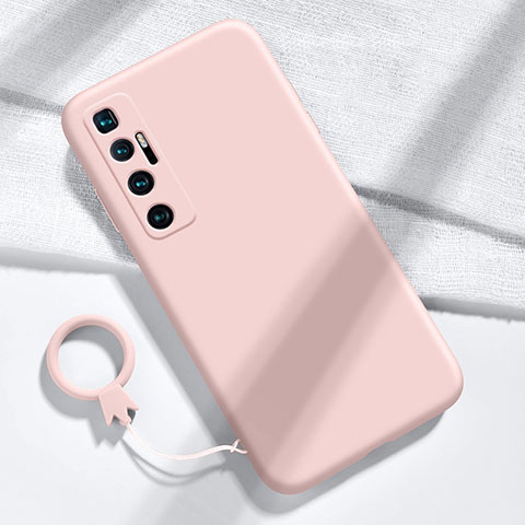 Coque Ultra Fine Silicone Souple 360 Degres Housse Etui pour Xiaomi Mi 10 Ultra Rose