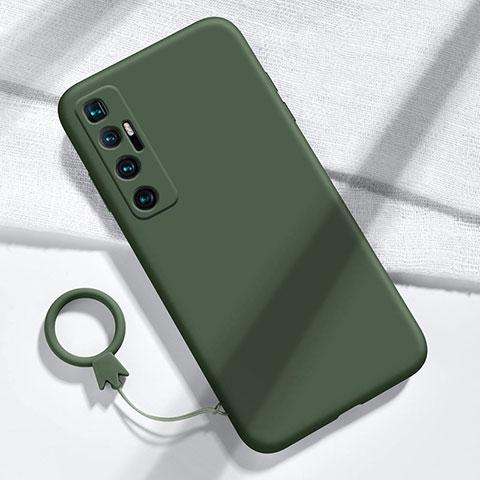 Coque Ultra Fine Silicone Souple 360 Degres Housse Etui pour Xiaomi Mi 10 Ultra Vert Nuit